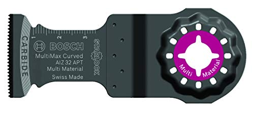 Bosch Professional 2608664217 Präzisionssägeblatt AIZ 32 APT MultiMax (für Multi Material, Starlock, 40 x 32 mm, Zubehör Multifunktionswerkzeug)