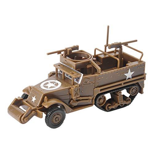 SunniMix Modelo de Juguete de Plástico para Niños, Adultos, Modelo de Construcción, Modelo de Ensamblaje de Juguetes, Colección de Juguetes, Juguetes para - Amarillo