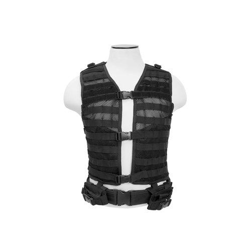 VISM by NcStar Molle/Pals Vest/Black (CPV2915B)