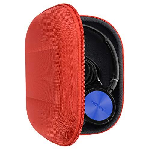Geekria Tasche Kopfhörer für Sony MDR-ZX300, ZX310, XB200, MDR-ZX100, ZX110, ZX102DPV MDRZX330BT, Schutztasche für Headset Case, Hard Tragetasche