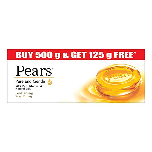 Pears Pure And Gentle Bathing Bar, 125g (Pack Of 5) 1