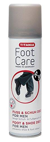 Titania Kombi Spray déodorant pieds et les chaussures, aérosol, Made for Men', 1er Pack (1 x 181 g)