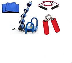 AB Rocket Slimming Belt & Exercise Rope & Hand Grip