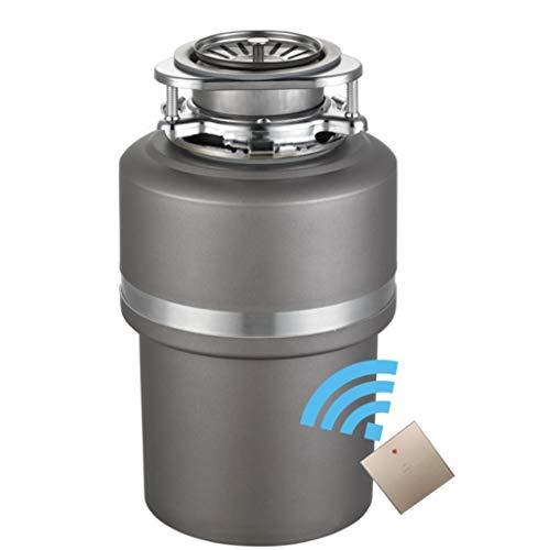 Procesador de residuos de cocina inteligente, positiva y negativa disipador de basura trituradora, 1200ML múltiples control inalámbrico cocina del hogar en silencio equipo de eliminación de residuos 0