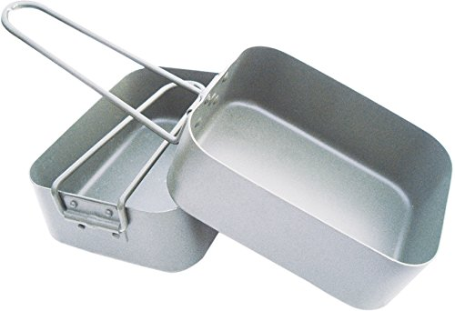 BCB Adventure Box Aluminium Mess Tin, Silver