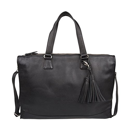 Cowboysbag tas laptoptas aktentas LAPTOP BAG HATFIELD 15.6 INCH Black 1922