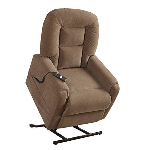 "Pulaski Home Comfort Collection Power Lift Chair, 32.5"" L x 39.0"" W x 43.0"" H, Brown"