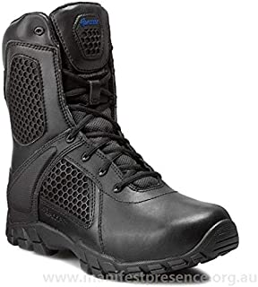 Bates E07008 Men's Strike Side Zip Waterproof Tactical Boot