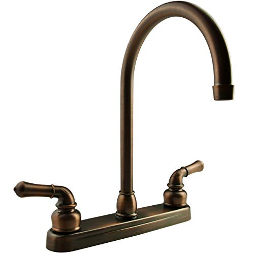 RV Bathroom Faucet For Travel Trailers DF-PL700C-ORB Dura Faucet Campers Oil Rubbed Bronze Classical RV Lavatory Faucet 5th Wheel