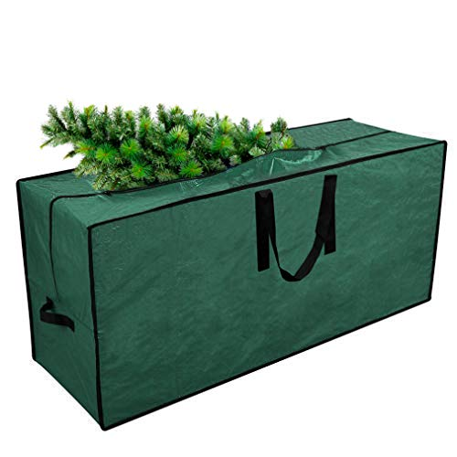 "Primode Christmas Tree Storage Bag | Fits Up to 7 Ft. Tall Disassembled Holiday Tree | 45"" x 15"" x 20"" Tree Storage Container 