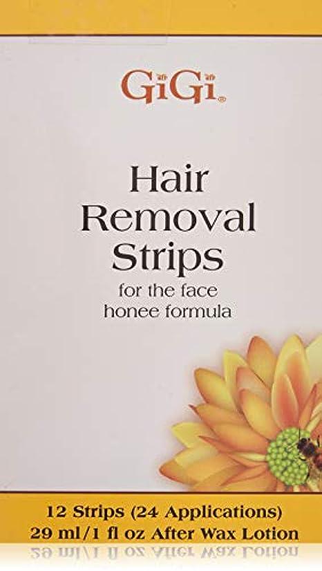 GiGi Facial Hair Removal, 12 Pre-Waxed Strips