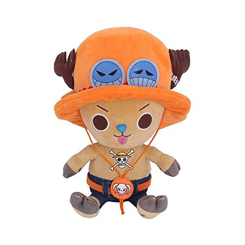 Anime Plüsch Kuscheltier Spielzeug, Cosplay Soft Kuscheltier Spielzeug,One Piece Plüsch Spielzeug Anime Figur Ruffy Tony Chopper Sanji Spielzeug für Kinder Geburtstag Kind Kissen Spielzeug Home Decor