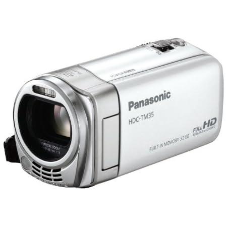 パナソニック デジタルハイビジョンビデオカメラ ホワイト HDC-TM35-W