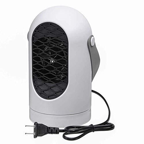 Lydul Bureaukachel, draagbare elektrische mini-radiator, verstelbare temperatuur, energiebesparend, snel opwarmen in 3 seconden, laag geluidsniveau