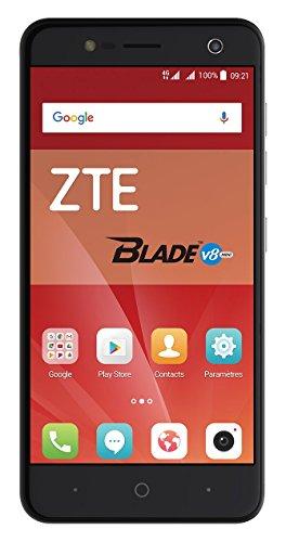 ZTE Blade V8 Mini Smartphone (12,7 cm (5 Zoll) Display, 16 GB Speicher, Dual-SIM, Android 7.0) Schwarz