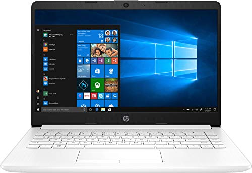 HP 14-dk0013ns - Ordenador portátil de 14' HD (AMD A9-9425, 8 GB de RAM, 256 GB SSD, AMD Radeon R5, Windows 10) Blanco - teclado QWERTY Español