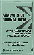 HILDEBRAND: ANALYSIS OF ORDINAL DATA (PAPER) (Quantitative Applications in the Social Sciences)
