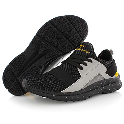 Creative Recreation Buck Mens Shoes Size 8, Color: Black/Grey/Orange