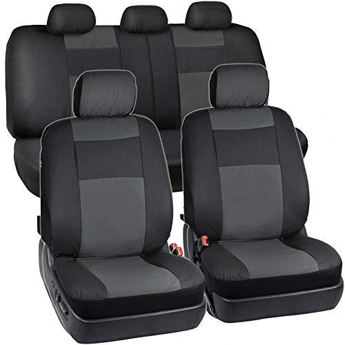 Preisvergleich Produktbild NAttnJf 4 / 5 / 9Pcs 4 Season Universal Automobile Komfortable Autositz Kopfstütze Beschützer Kissenbezug 9pcs