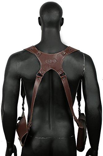 Xcoser Uncharted Shoulder Belt Holster Deluxe PU Cosplay Costume Accessories