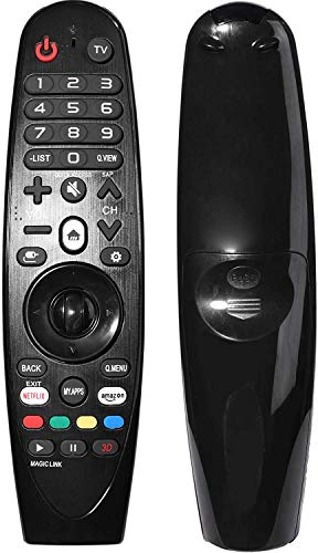 AN-MR19BA AN-MR18BA Universal Magic Remote Control for All LG Smart TV with Netflix and Amazon Buttons (Without Mouse and Voice Function)