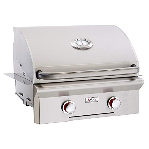 AOG American Outdoor Grill 24NBT-00SP T-Series 24 inch Built-in Natural Gas Grill Gas Grills Natural