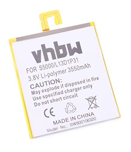 vhbw Batterie 3550mAh (3.8V) pour Notebook Lenovo IdeaPad S5000 remplace L13D1P31.