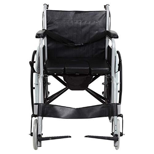 GYW-YW Silla de rehabilitación médica, silla de ruedas, silla de ruedas plegable...