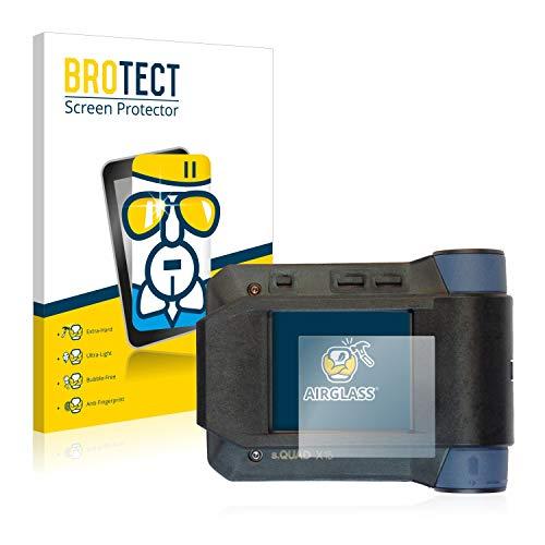 BROTECT Panzerglas Schutzfolie kompatibel mit Swissphone s.Quad X15 - AirGlass, 9H Härte, Anti-Fingerprint, HD-Clear