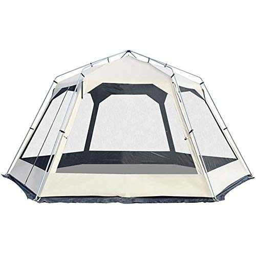 8-10 Person Outdoor Camping Tent Quick Setup Family Tent Waterproof Anti-UV Dome Tent Backpacking Tent for Beach Hiking Travel Climbing