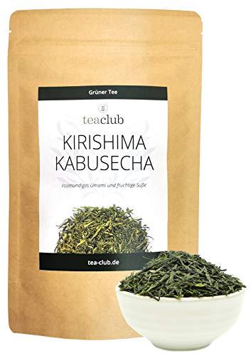 Kirishima Kabusecha 100g, First Flush Kabuse Sencha Grüner Tee Japan, Grüntee Lose TeaClub Green Tea