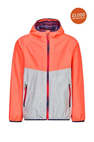 Killtec Faylina Colourblock Jr functionele jas met capuchon, inpakbaar