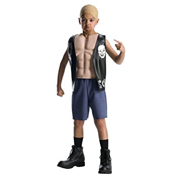 World Wrestling Entertainment Deluxe Child s Muscle Chest Costume Stone Cold Costume