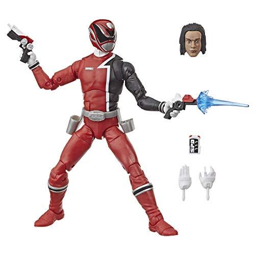 Power Rangers Lightning Collection 15 cm große S.P.D. Roter Ranger Action-Figur zum Sammeln mit Accessoires