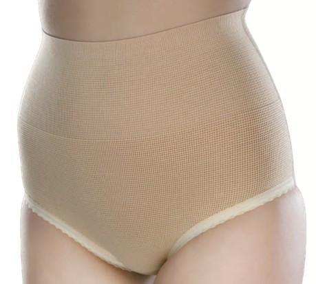 Rutschfeste elastischer Frauenslip Art. 302 Farbe: weiß Größe 5 > 80-84 cm