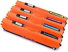 KATRIZ Cartuchos de tóner de Repuesto 126A CE310A CE311A CE312A CE313A 130A CF350A CF351A CF352A CF353A Compatible para HP CP1025 CP1020 Pro 100 MFP M175a M175nw TopShot M275a M275nw