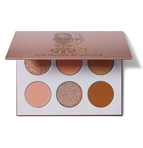 Juvia's Place The Nudes 6 Set Nude and Rich Brown Eyeshadow Palette