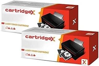 Cartridgex - Cartucho de tóner Compatible para Konica Minolta 2300DL 2300W 2350 2300 (2 Unidades), Color Negro
