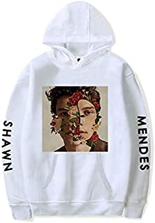 Shawn Mendes fashion sweatshirt round collar oversize hoodie printing casual top