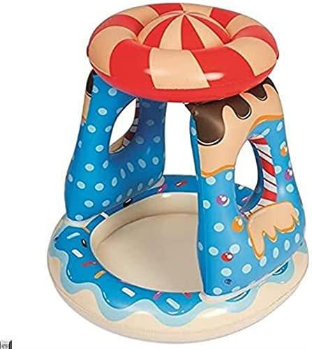hwljxn Plein Play Pool Baby Piscina Opblaasbare Pool Kinderen Zwembad Baby Float Colchonetas Opblaasbare Piscina Kind Baby Piscine Gonflable Piscine Opblaasbaar Zwembad (Kleur: Snoep Luifel Pool)