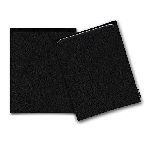SIMON PIKE Ledertasche 'Bern',kompatibel mit Lenovo Yoga A12,in schwarz 01