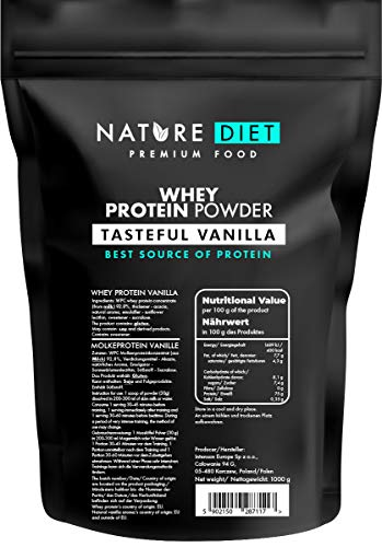 Nature Diet Whey Protein Powder, Vanilla