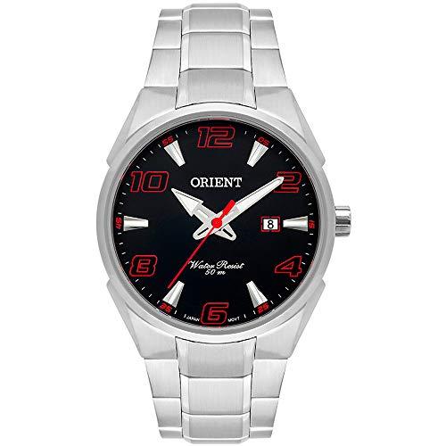 Relógio Orient Masculino MBSS1337 P2SX Vermelho com Mostrador Preto