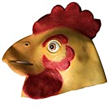 YYH Disfraz de Halloween for Adultos Máscara de Bola Arnés Rendimiento for niños Accesorios de látex
