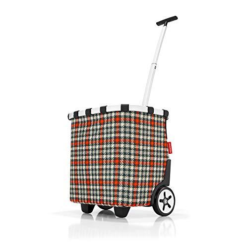Reisenthel Wandelbares Lieblingsstück XS Mini Maxi Shopper Baroque Taupe, Polyester, Glencheck Red, 48 cm