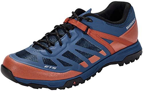 SHIMANO Unisex Zapatillas MTB ET500 Sneaker, rot, 48 EU