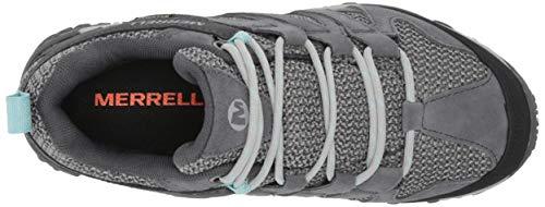 Merrell womens Alverstone Waterproof Hiking Shoe, Storm, 8 US
