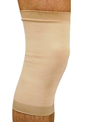 MANIFATTURA BERNINA Saniform 4013 - Rodillera elástica compresión para Mujer y Hombre Soporte para Rodilla