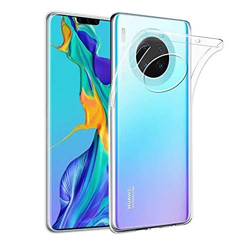 JIAXIUFEN Huawei Mate 30 Pro Hülle TPU Silikon Schutz Handy Hülle Handytasche Etui Schale Schutzhülle Case Cover HandyHülle für Huawei Mate 30 Pro - Transparent