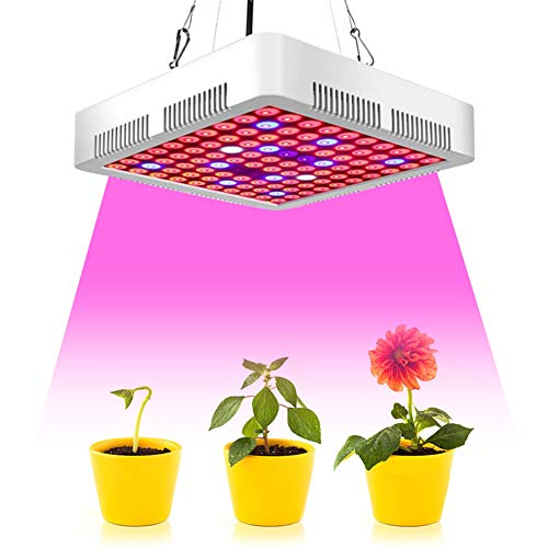 IYMSS LED Grow Light Dimmable 1000W Grow Lights Compatible Grow Lights Full Spectrum for Indoor Plants Seeding Veg Flower Growing Lamp